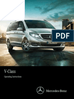 Mercedes v 220 2015 Owners Manual