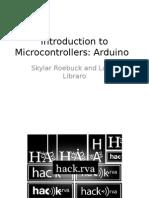 Introduccion a Los Microcontroladores