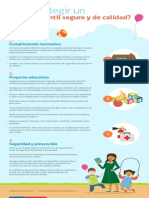 Orientaciones para elegir un jardín infantil