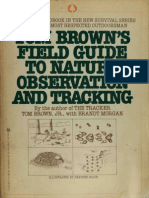 Tom Brown's Field Guide to Nature Observation and Tracking (1983)