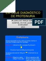 Enfoque Diagnostico de Proteinuria