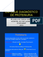 Enfoque Diagnostico de Proteinuria