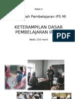 Paket 3Keterampilan Dasar Mengajar IPS Final