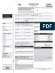 Common Form – Financial Transactions DSP
