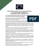 Declaración Bruselas 2015 ES
