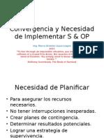 Convergencia  y S&OPen la Red de Suministros 2015.pptx