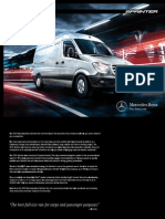 Mercedes Sprinter 2015 Misc Documents-Brochure