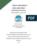 Laporan Praktikum Kimia Organik 2 Pembuatan Iodoform Dari Aseton Rizky Harry S-libre