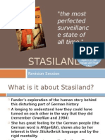 Stasiland Revision Powerpoint