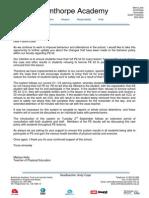 pe kit letter 2015