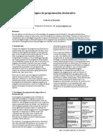 Paradigma de programación declarativo