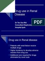 Drug use in Renal Disease