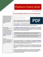 No. 11 Policy Brief Land Right Indicator