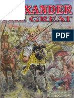 Warhammer Ancient Battles - Alexander the Great