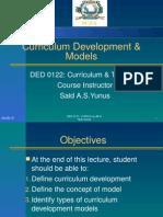 model of curriculum development