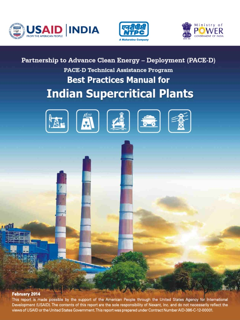 Manual for Super Critical Thermal Power Plants | Boiler | Power Station
