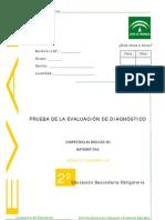 Evaluación diagnótica competencia matemática 2º ESO_Andalucía_2007_2008_Cuadernillo 2