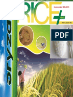 9th September ,2015 Daily Exclusive ORYZA Rice E-Newsletter by Riceplus Magazine