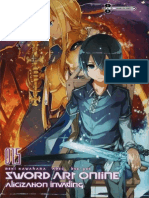 Sword Art Online 15 Alicization Invading en Español Completo