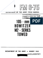 FM6-75 105 mm HOWITZER M2 - SERIES TOWED