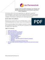 Stock Pitch Guidelines Template