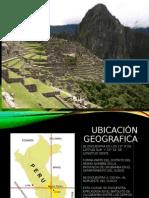 Macchu Picchu y Sus Caracteristicas