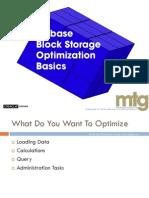 MTG EssBase Optimization Basics