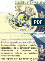 Unidad 1 Introducion Definiciones DESARROLLO SUSTENTABLE