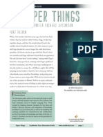 Paper Things by Jennifer Richard Jacobson Discussion Guide