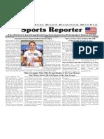 September 9 - 15, 2015 Sports Reporter