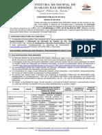 01 Edital01 Concursopdabliconba001282208201429 Guaranidasmissd5es Poderexecutivo