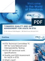 Towards Quality and QOS Assessment for VoLTE -IMSWF.ppt