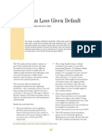 Bank-Loan Loss Given Default