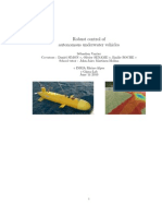 Robust Control of Autonomous Underwater Vehicles