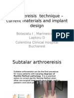 Arthroeresis Implants Colentina