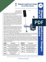 Magnetic Liquid-Level Gauges for LP Gas Service
