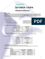 Crestomer, Adhesivo estructural de alta resistencia