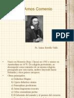 Juan Amos Comenio. Ps. Jaime Botello Valle