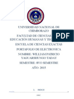 Yaguarshungo Willian-portafolio de Electronica