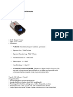 Figerprint Solution Mini