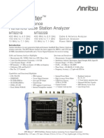 Anritsu MT8222B BTS Master Base Station Analyzer Data Sheet.pdf