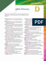 Thierer Spanish Glossary