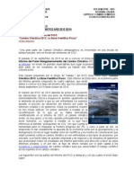Informe Cambio Climatico 2013