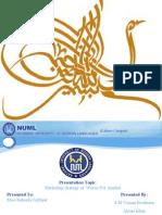 Marketing project by Usman pirzada
