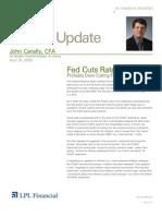 Compass Financial - Market Update April 30, 2008