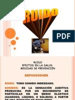 Ruido, temp,radiaciones ionizantes Julio 2009.ppt
