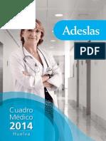 Cuadro Medico Adeslas 2014