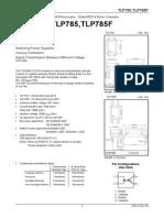 TLP785 datasheet