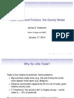 Gravity and international trade- Slides