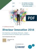 Directeur Innovation 2016